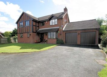 Thumbnail 4 bed detached house for sale in The Heights, Ladderedge, Leek