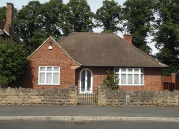 Thumbnail 2 bed detached bungalow to rent in Russell Crescent, Wollaton, Nottingham