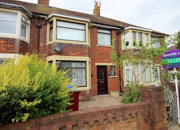 Thumbnail 3 bedroom terraced house to rent in Kingsley Road, Blackpool
