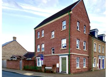 Thumbnail 4 bed town house for sale in Staldon Road, Swindon