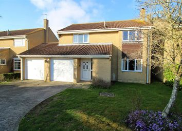 Thumbnail 4 bed detached house for sale in Chudleigh, Freshbrook, Swindon