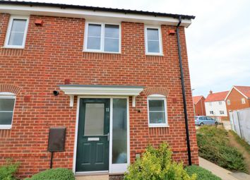 Thumbnail 2 bedroom end terrace house for sale in Yew Tree Way, Dereham