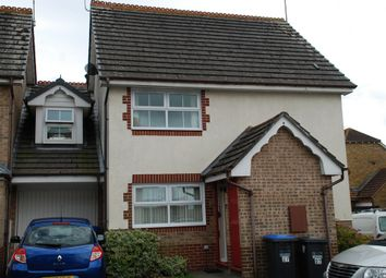 Thumbnail 1 bed end terrace house to rent in Dyall Close, Burgess Hill