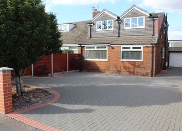 Thumbnail 4 bed semi-detached bungalow for sale in Beechfield Road, Milnrow, Rochdale