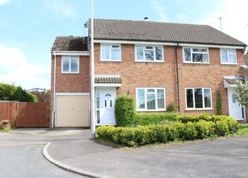Thumbnail 4 bed semi-detached house for sale in Gladstone Close, Kintbury