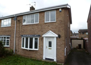 Thumbnail 3 bed semi-detached house to rent in Fairway, Normanton