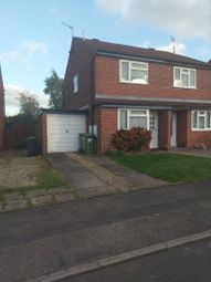 Thumbnail 2 bed semi-detached house to rent in Elliston Grove, Sydenham, Leamington Spa