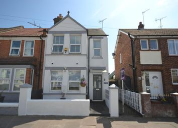Thumbnail 3 bed end terrace house for sale in Castle Road, Clacton-On-Sea