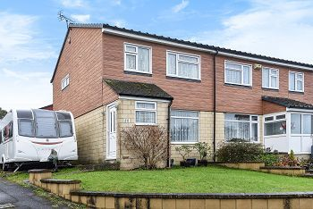 Thumbnail 3 bed semi-detached house for sale in South Street, Warminster, Wiltshire