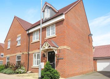 Thumbnail 4 bed semi-detached house for sale in Bose Avenue, Biggleswade