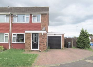 Thumbnail 3 bed semi-detached house to rent in Oaks Drive, Higham Ferrers, Northamptonshire