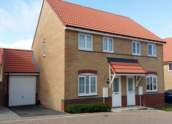 Thumbnail 3 bedroom semi-detached house for sale in Wagtail Crescent, Whitby