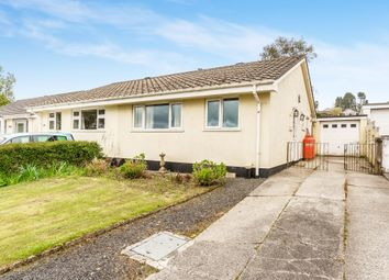 Thumbnail 2 bed semi-detached bungalow for sale in Venland Close, St. Cleer, Liskeard