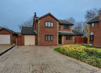 Thumbnail 4 bed detached house for sale in Church Meadow, Unsworth, Bury