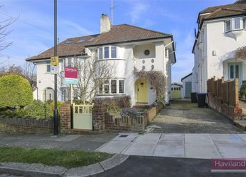 Thumbnail 3 bed semi-detached house for sale in Broadfields Ave, Winchmore Hill, London