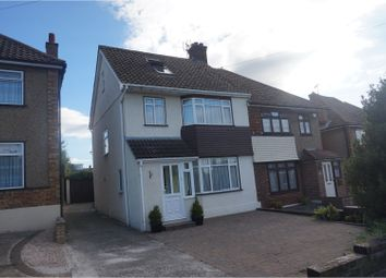 Thumbnail 3 bed semi-detached house for sale in Woodbrooke Way, Stanford-Le-Hope