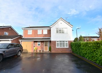 Thumbnail 4 bed detached house for sale in Holsworthy Close, Nuneaton