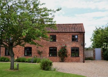 Thumbnail 3 bed detached house for sale in The Green, Runhall, Norwich