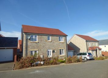 Thumbnail 4 bedroom detached house for sale in Cranbrook, Exeter, Devon
