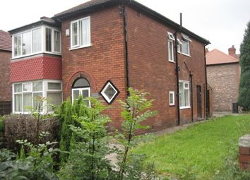 Thumbnail 4 bedroom property to rent in Wensley Drive, Withington, Manchester