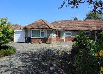 Thumbnail 3 bed semi-detached bungalow for sale in Curzon Close, Orpington, Kent