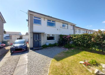 Hallane Road, St Austell, Cornwall PL25. 3 bed semi-detached house for sale