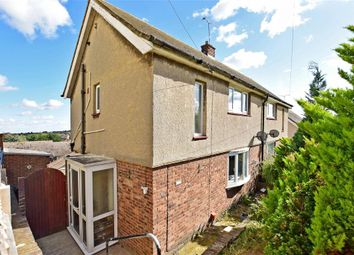 Thumbnail 2 bedroom semi-detached house for sale in Mungo Park Road, Gravesend, Kent