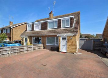 Thumbnail 3 bed semi-detached house for sale in Upton Road, Worthing, West Sussex