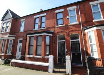Thumbnail 3 bed terraced house to rent in Glendower Road, Waterloo, Liverpool