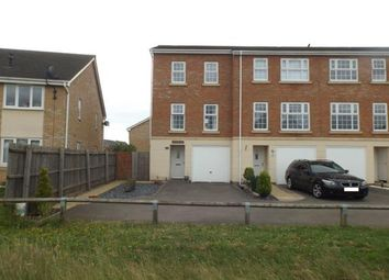 Thumbnail 3 bed end terrace house for sale in Starling Close, Corby, Northamptonshire, .