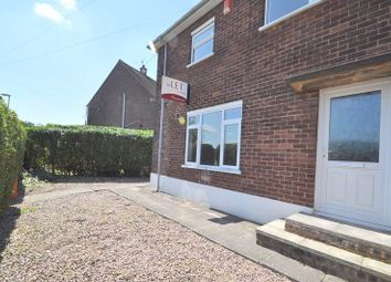 Thumbnail 3 bed semi-detached house to rent in Mowbray Walk, Stoke-On-Trent, Staffordshire