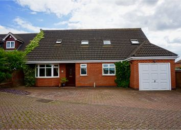 Thumbnail 4 bed detached house for sale in The Cuttings, Thurnby