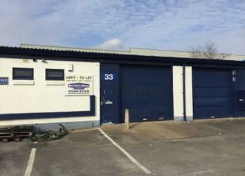 Thumbnail Light industrial to let in Unit 33, Lake Enterprise Park, Bromborough