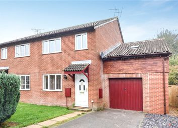 Thumbnail 4 bed semi-detached house for sale in Fairlane, Shaftesbury, Dorset