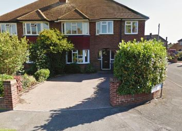 Thumbnail 4 bedroom detached house to rent in Selbourne Avenue, New Haw