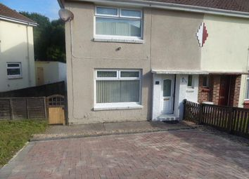 Thumbnail 2 bed semi-detached house to rent in Rectory Avenue, Hakin, Milford Haven
