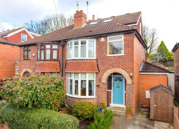 Thumbnail 4 bed semi-detached house for sale in Ridgeway, Leeds, West Yorkshire