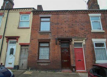 Thumbnail 2 bed terraced house to rent in Burnham Street, Fenton, Stoke-On-Trent