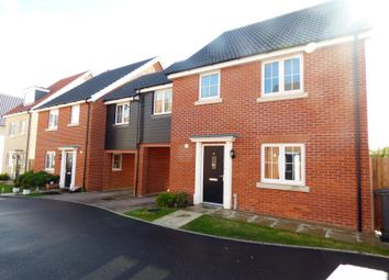Thumbnail 4 bed detached house to rent in Hedge Sparrow Road, Stowmarket