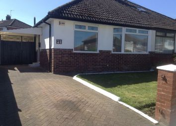 Thumbnail 2 bed detached bungalow to rent in Fieldway, Widnes