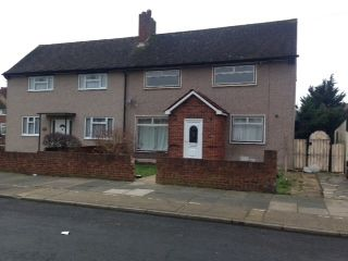 Thumbnail 3 bed semi-detached house to rent in Cross Road, Romford