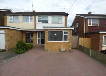 Thumbnail 4 bed semi-detached house for sale in Benfleet, Essex, Uk