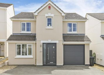 Thumbnail 4 bed detached house for sale in Bedowan Meadows, Tretherras, Newquay
