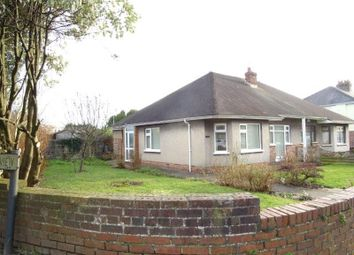 Thumbnail 3 bed semi-detached bungalow for sale in Coity Road, Bridgend