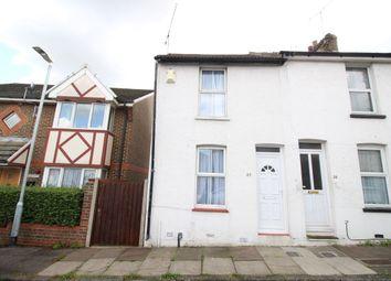 Thumbnail 2 bed terraced house for sale in Elliott Street, Gravesend