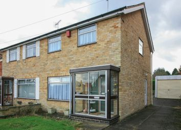 Thumbnail 2 bed semi-detached house for sale in Tennyson Avenue, Rugby