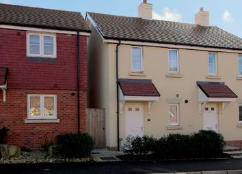 Thumbnail 2 bed semi-detached house for sale in Saddle Way, Andover