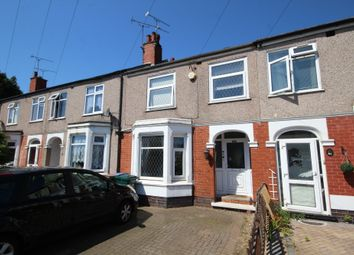 Thumbnail 3 bed terraced house for sale in Glendower Avenue, Coventry