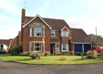 Thumbnail 4 bedroom detached house for sale in Lindberg Way, Woodley, Reading, Berkshire