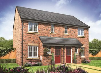 "Thumbnail 2 bedroom semi-detached house for sale in ""The Trafalgar"" at Ostrich Street, Stanway, Colchester"